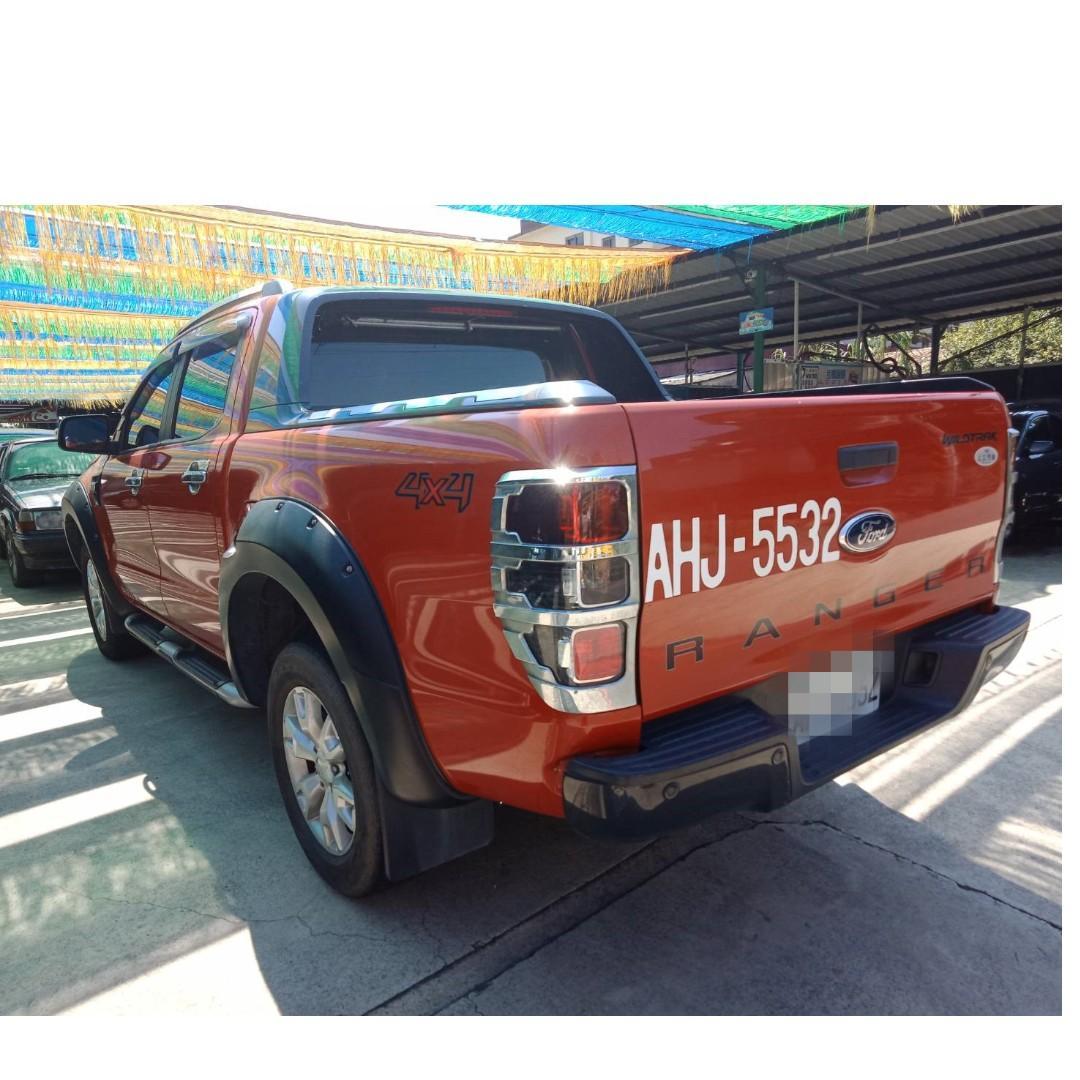 2014   Ranger    3.2L  橘    漂亮車   少跑