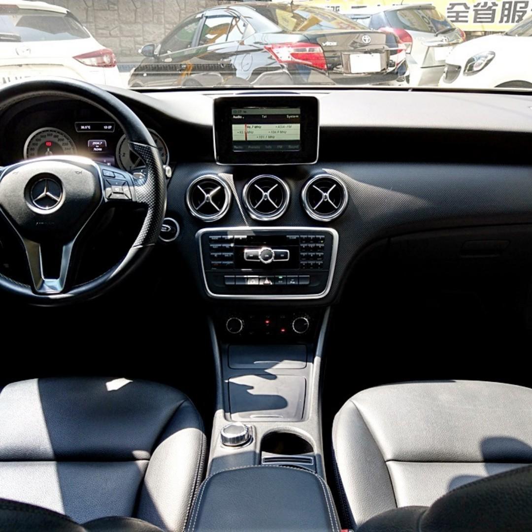 2014年A200 CDI,一手車.柴油渦輪.五門掀背.低里程.認證車.里程保證