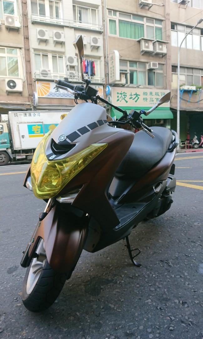 2015年  Yamaha S-max 155 車況漂亮 0元交車 可辦理分期 免頭款 免保人