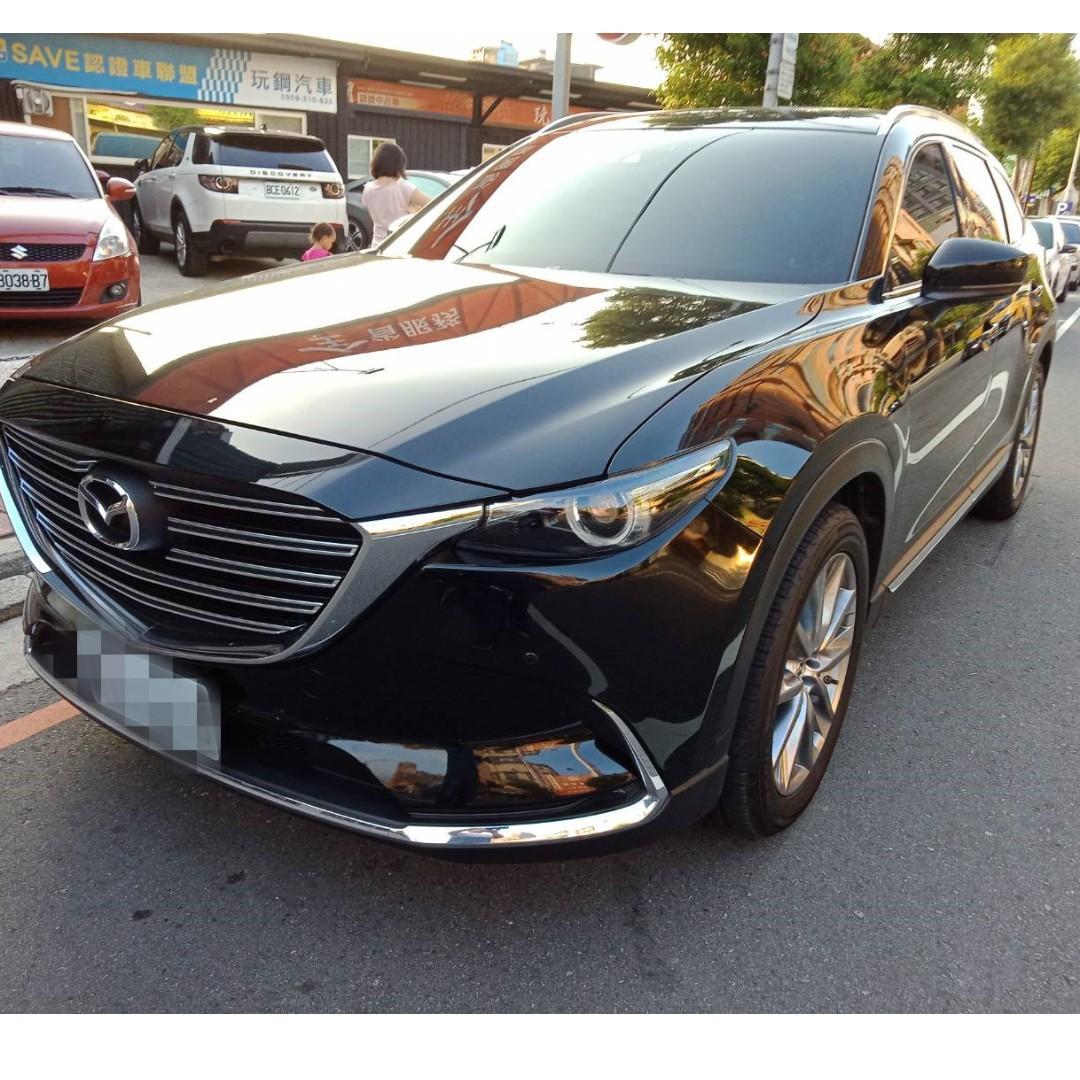 2017    CX-9   黑色          漂亮車    少跑