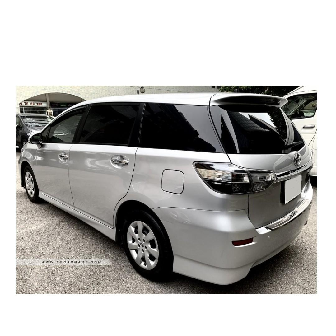 2017 Toyota Wish 1.8A - 6 month Contract