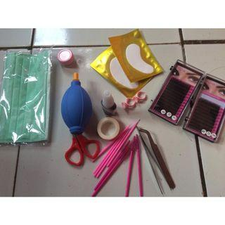 Paket eyelash extension