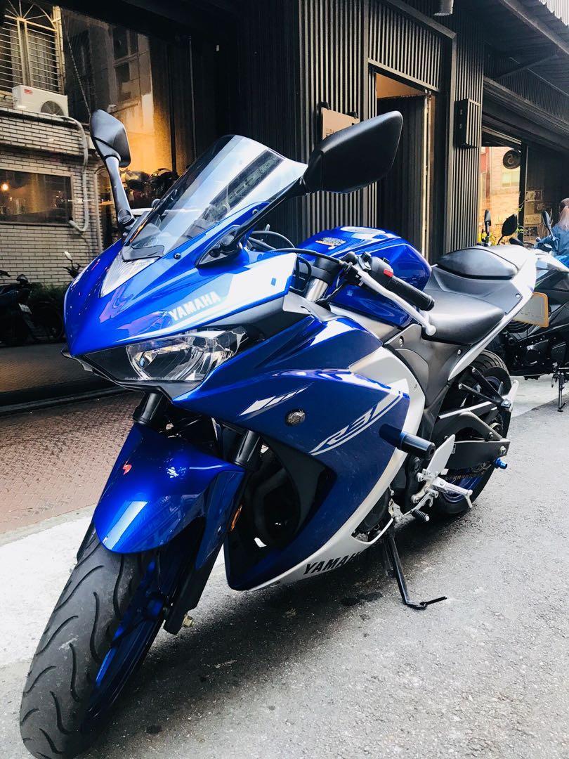 2018年 Yamaha R3 ABS 只跑五千多公里 滿18可分期 免頭款 歡迎車換車 網路評價最優 業界分期利息最低 仿賽 賽車 黃牌 忍者 忍3 小阿魯 R15 可參考