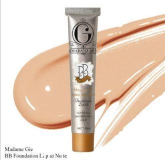 BB Cream Waterproof Liquid Foundation Madame Gie Original BPOM