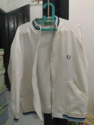 Jaket Track Top Casual Fred Perry Size M Preloved
