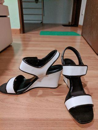Charles & Keith White heels