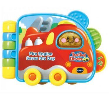 Vtech Fire Engine Saves The Day