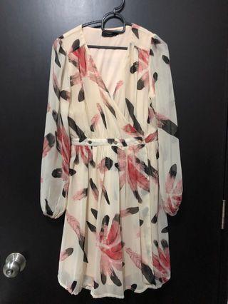 Nichii Wrap Dress