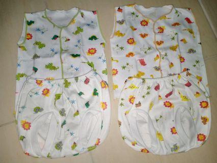 Baju bayi / baju & celana kutung bayi / baju newborn
