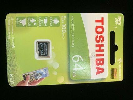 $1010big ✘$499 Toshiba Exceria Micro SD Card 64GB