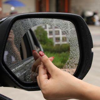【暉長豪商行】汽車後照鏡防雨貼膜 現貨 【四角】 後照鏡防雨膜 後視鏡防雨膜 眩光膜 防霧膜 防雨膜 後照鏡 防雨 防霧