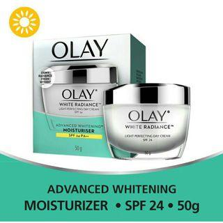 Authentic Olay White Radiance Light Perfecting Day Cream 50g