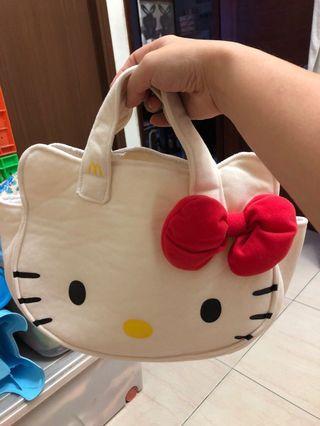 可愛hello kitty 手提袋