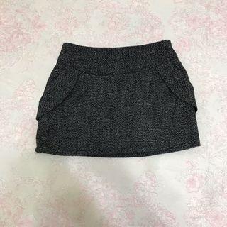 針織短裙(鬆緊