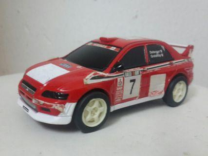 Mitsubishi evo 7 car model