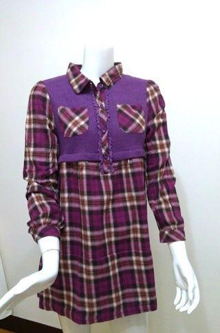 👗女童格紋洋裝 ⏩適合8至10歲<120-140cm>📣