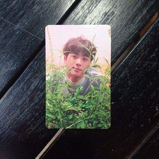 BTS JIN Official Photocard - LY HER ver O