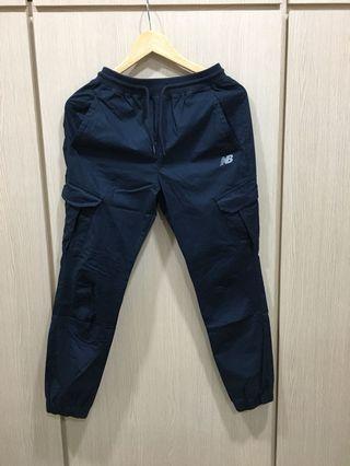 全新✨NB 深藍縮口長褲