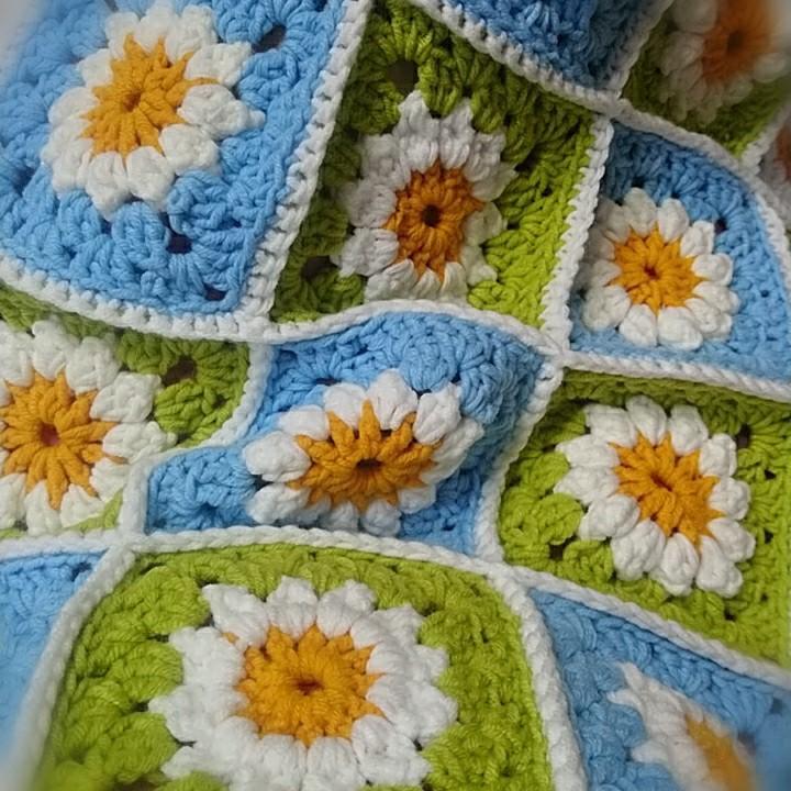 聖誕節禮物爆米花花朵抱枕靠墊(藍綠)