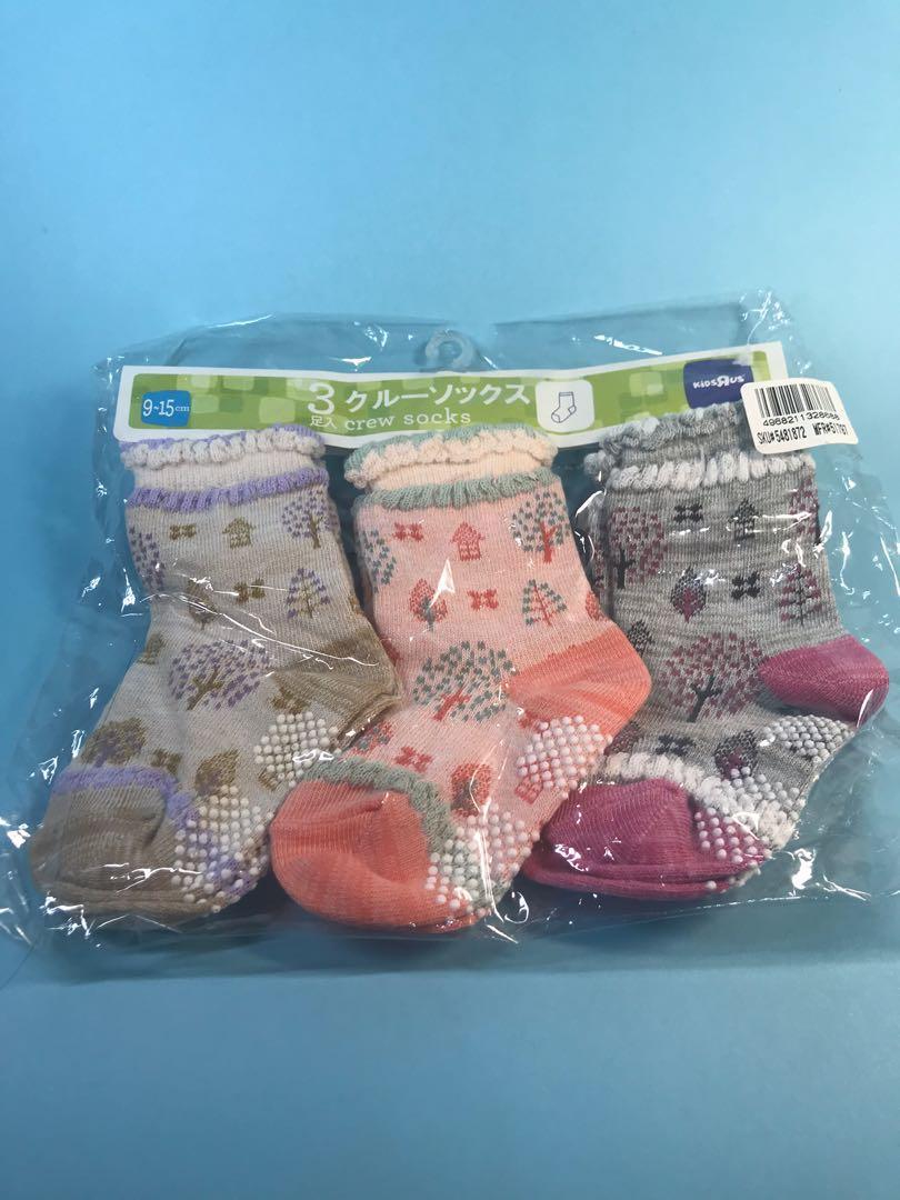 全新日本牌子小朋友襪