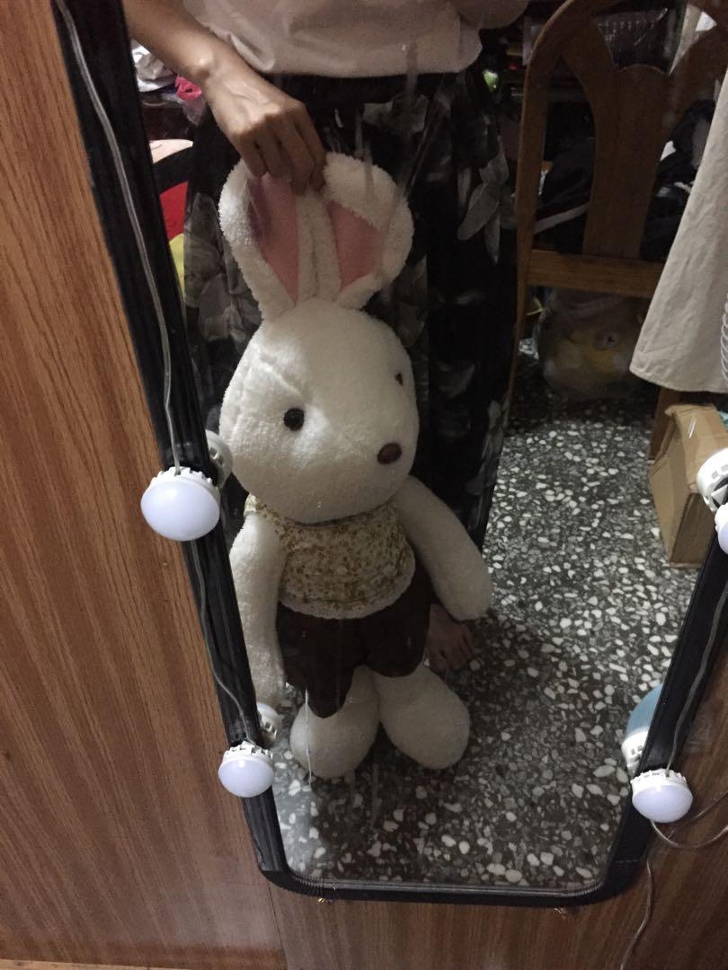 大兔兔娃娃 82公分高兔子娃娃