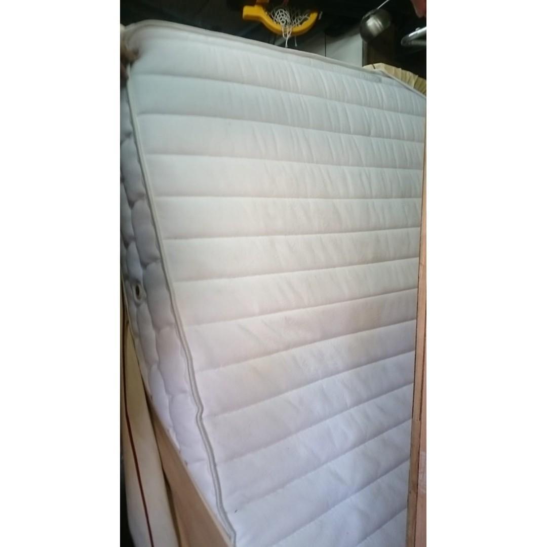 【健利傢俱行】雙人床墊 獨立筒 中古雙人床墊 二手雙人床墊