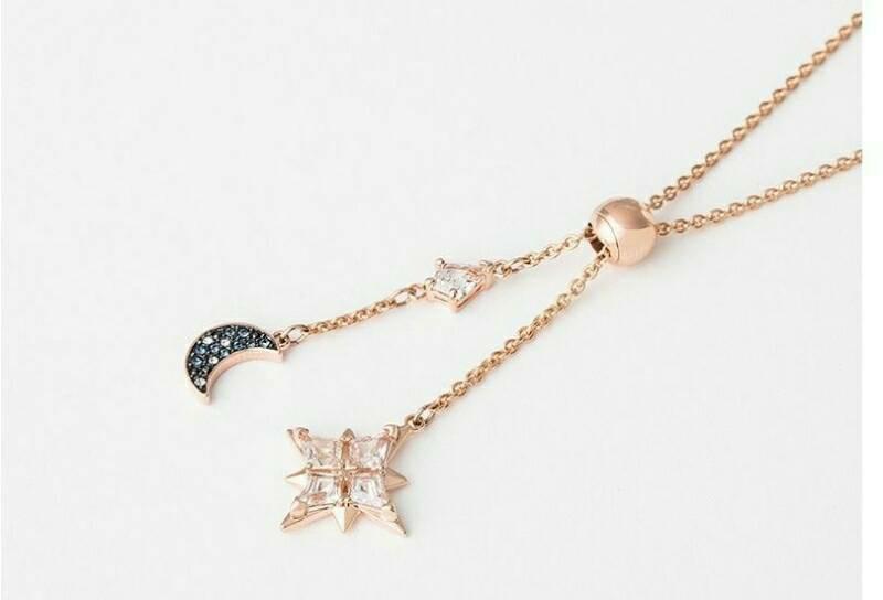 😍😍施華洛世奇💘💘 璀璨星月浪漫典雅項鏈 敢保證 絕對對是最美、最漂亮 最有意境的項鍊 超美的啦  現+預