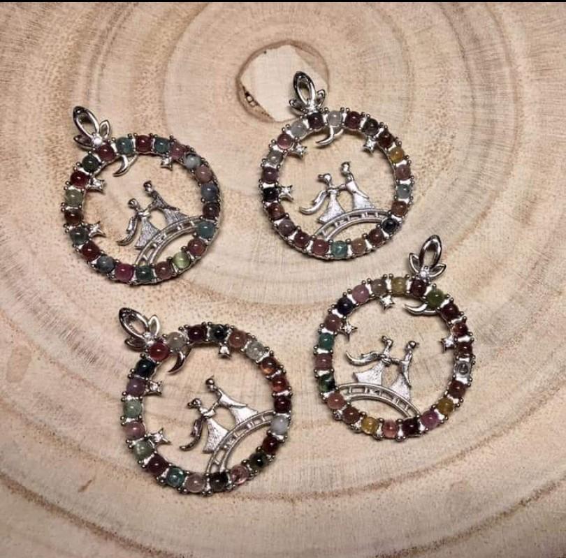 ♥️萍價水晶♥️ 碧璽 墜子 項鍊 吊飾 飾品  (隨機出貨)