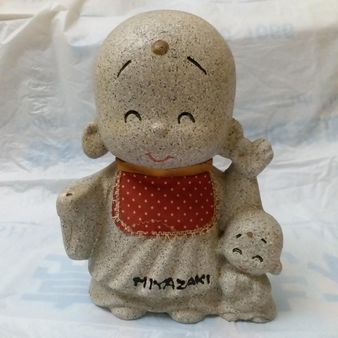 日本地藏 錢箱 錢罌 coin box