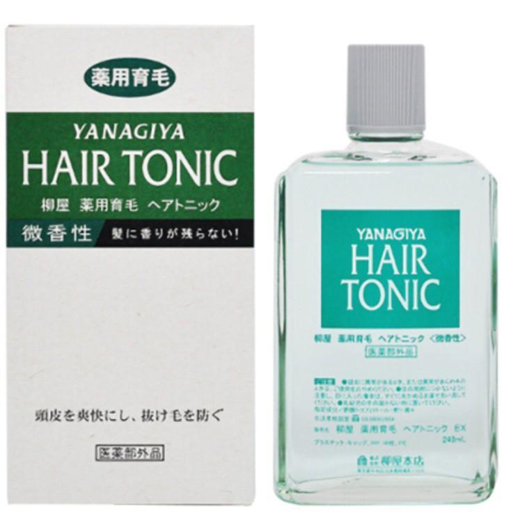 柳屋 Hair Tonic 髮根營養液頭皮護理液 240ml (薄荷/微香清爽/柑橘/無香料)