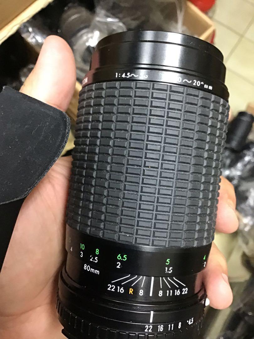 鏡頭 sigma for 80 200mm Nikon ais 手動 前鏡小霉 不影響 無前後蓋