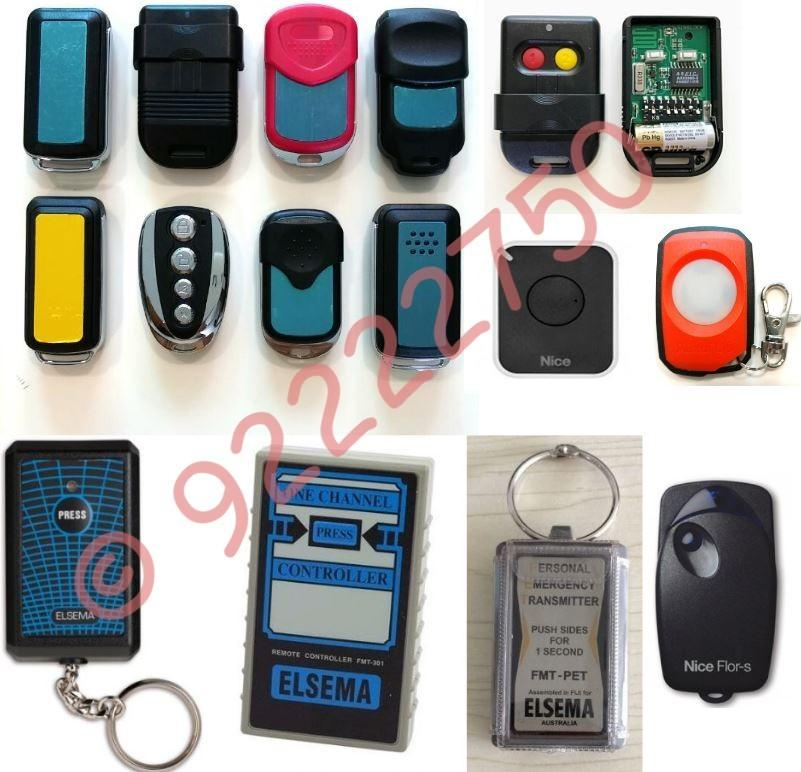 Access Card And Gate Remotes Duplication
