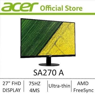Acer SA270 monitor (gaming/computer use)