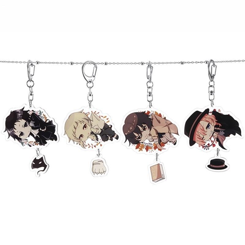 Anime Bungou stray dogs keychain