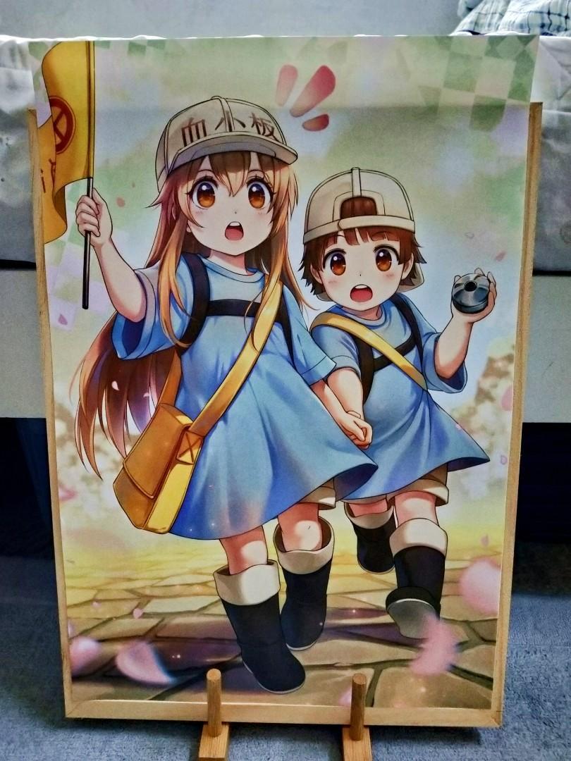 Anime Poster - Hataraku Saibou