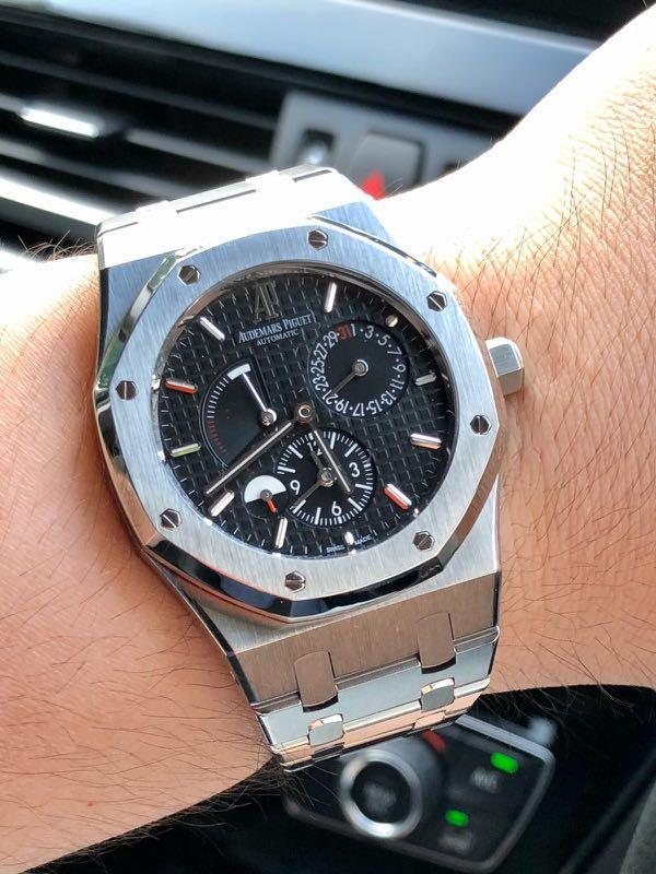 AP Watch Royal Oak Dual Time (39mm steel)