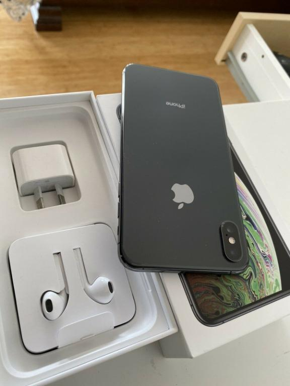 Apple iPhone XS Max - 256 GB - Space Grey - As NEW Cond.