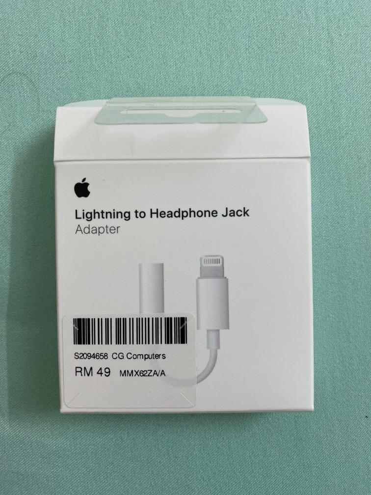 Apple Lighting to Headphone Jack Adapter (3.5mm)