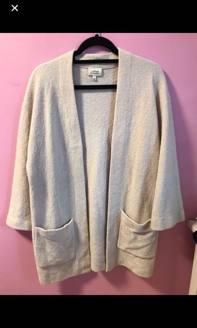 Aritzia Brullon Sweater in Heather Birch Size Small