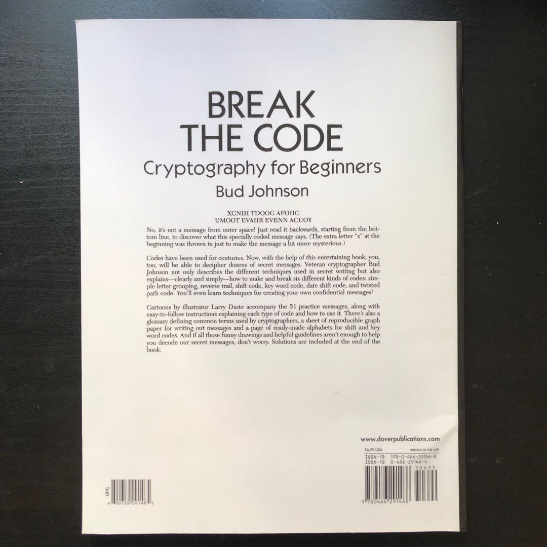 Break the code - cryptography for beginners