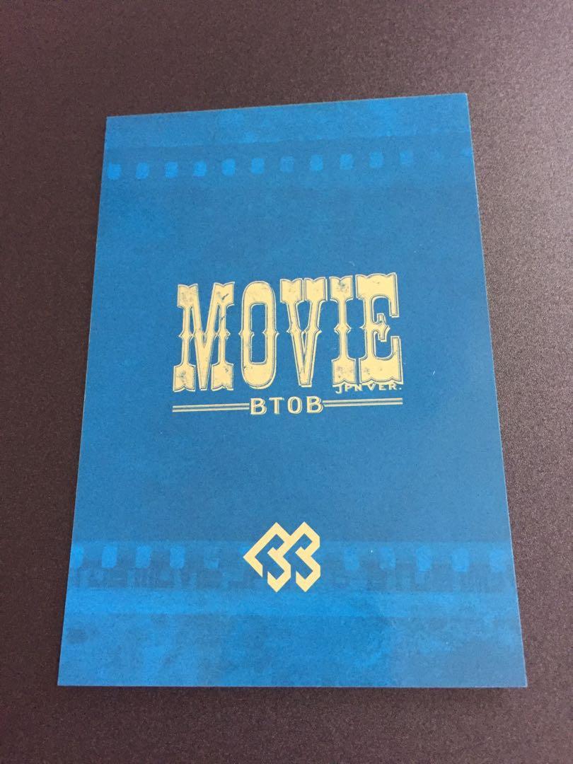 BTOB Changsub Movie Special Limited Edition Postcard