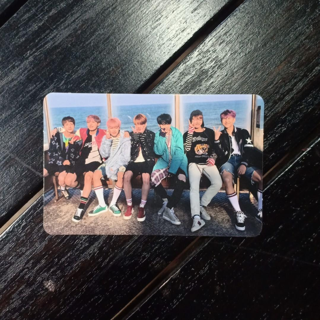 BTS GROUP Photocard - YNWA right ver