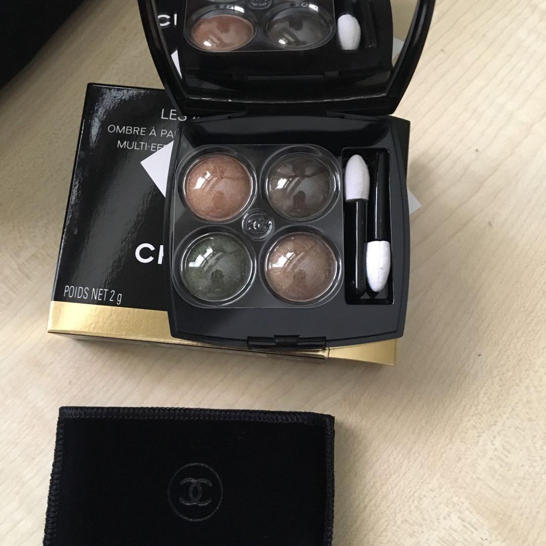 Chanel Blurry Green Eyeshadow Quad