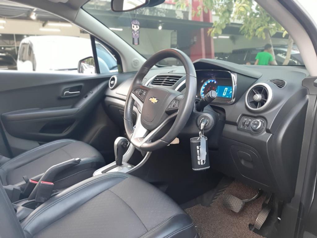 Chevrolet TRAX 1.4 Turbo LTZ Putih 2016 TOP Condition , Sunroof, Dp 20,9 Jt No Pol Genap