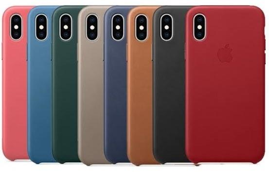 CRAZY DEAL!! Apple iPhone X and XS Genuine Official Leather Case Cover in Retail Box