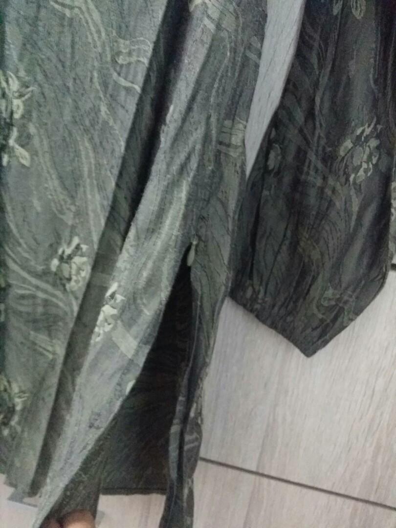 Dark green Long Blouse