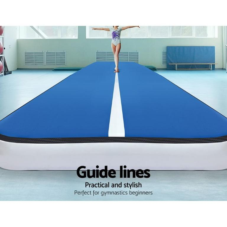 Everfit 8MX2M Inflatable Air Track Airtrack Tumbling Floor Mat Home Gymnastics Gym