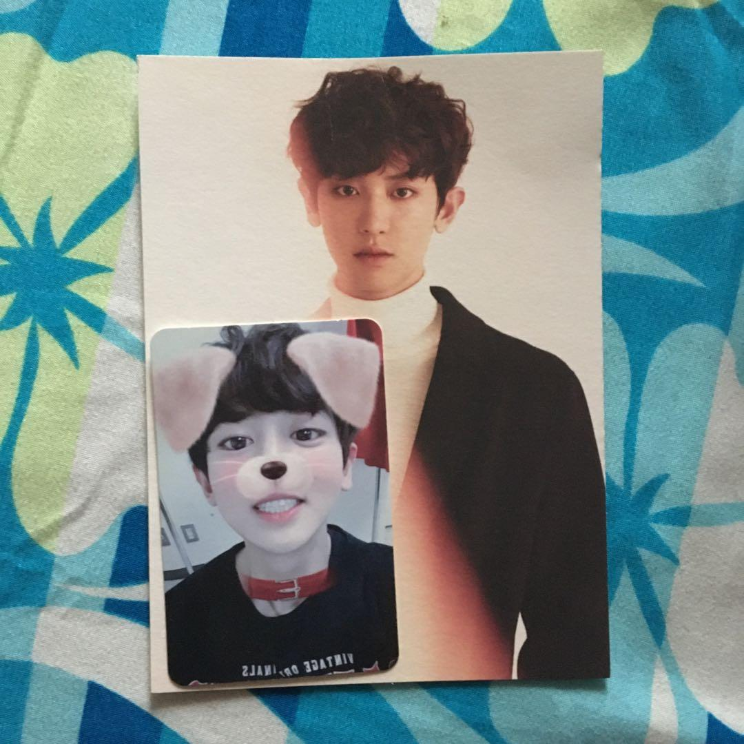 EXO Winter Special Album: FOR LIFE w/ Chanyeol PC & D.O Monster PC