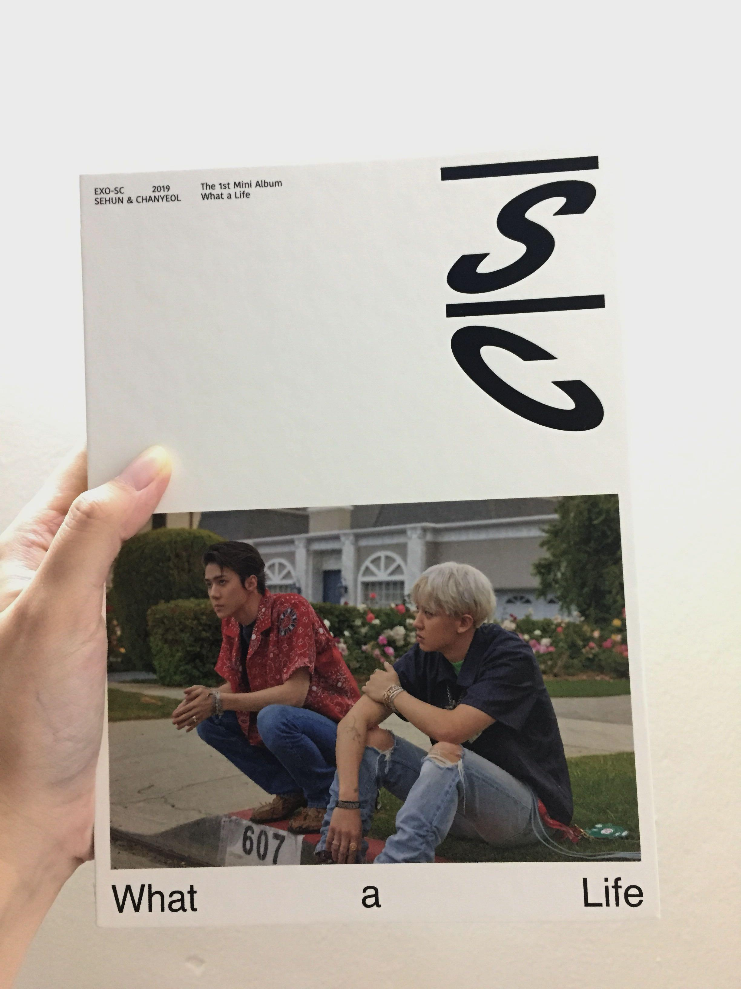 EXO-SC what a life album