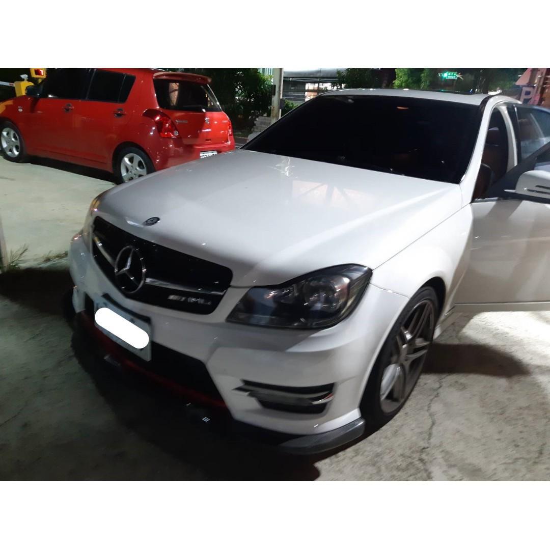 【FB搜尋桃園阿承】賓士 超人氣C250 2012年 1.8 白色 二手車 中古車